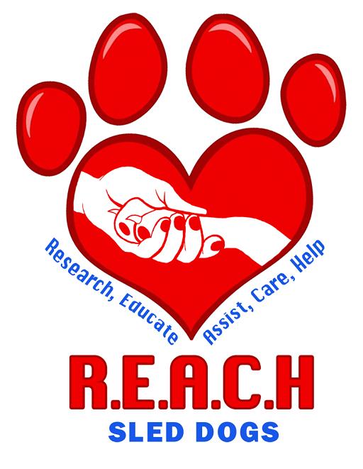 REACH Sled Dogs Logo